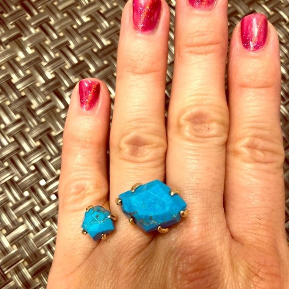 Kendra Scott Jewelry - Kendra Scott Statement Turquoise Ring